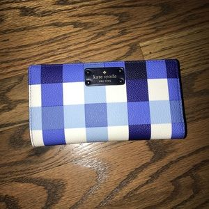 Kate Spade Checkered Wallet